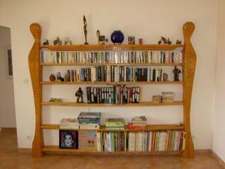Bibliothèque Alain CARUSO SalonEtagères