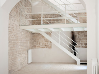 3C+M architettura Salas de estar mediterrâneas