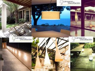 Lámparas de Diseño Exterior LÁMPARAS DE DECORACIÓN JardínIluminación