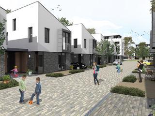 SPACE TO GROW E2 Architecture + Interiors Casas de estilo moderno