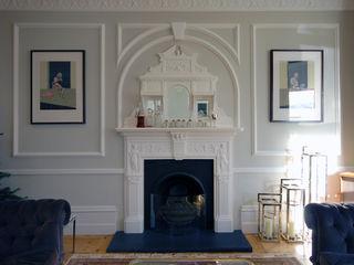 Rosalyn House Lee Evans Partnership Salas de estar modernas