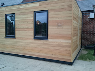 Play Box Hull - Timber Clad Play Room Building With Frames Nursery/kid's room