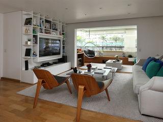 Casa 2 Arquitetos Ruang Keluarga Modern
