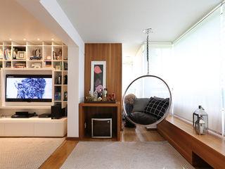 Casa 2 Arquitetos Comedores de estilo moderno