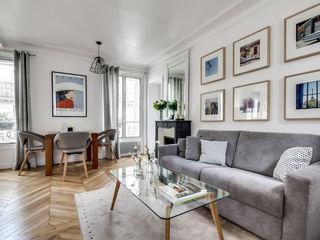Le charme parisien bypierrepetit Salon scandinave