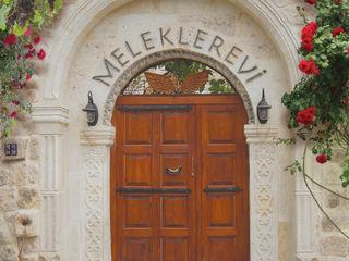 Erinal Mimarlık İnşaat Ltd. Şti Mediterranean corridor, hallway & stairs