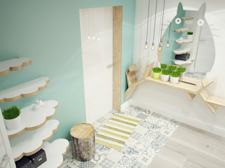 Мастерские проекта Про.Движение> Asian style corridor, hallway & stairs