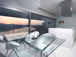 Albertina Oliveira-Arquitetura Unipessoal Lda Cocinas minimalistas