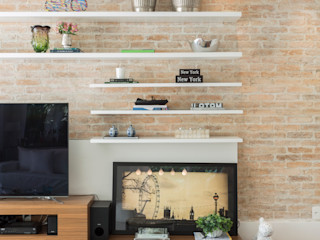 Boutique Arquitetura Modern living room