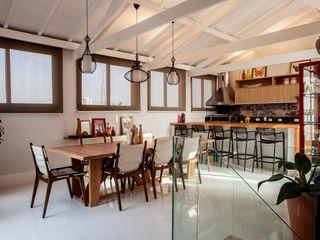 Cobertura São Caetano do Sul - SP Biarari e Rodrigues Arquitetura e Interiores CozinhaIluminação