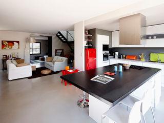 Cendrine Deville Jacquot, Architecte DPLG, A²B2D Nhà bếp phong cách hiện đại