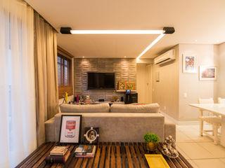 Bloom Arquitetura e Design Modern living room