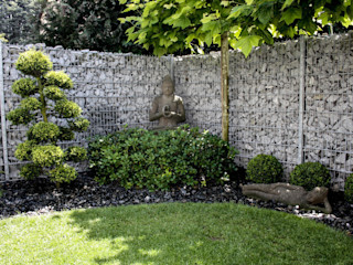 Asianstyle design garden -GardScape- private gardens by Christoph Harreiß Asian style gardens