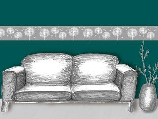 Bordueren für die Großen - Wohnzimmer | Schlafzimmer | Bad & andere Wohnräume Mein Bordürenladen Wohnzimmer im Landhausstil
