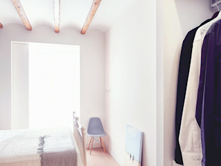 Markham Stagers Modern Yatak Odası Ahşap Beyaz
