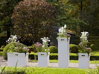 DIRECTIS Garden Plant pots & vases Aluminium/Zinc White