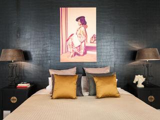 Markham Stagers Спальня в азиатском стиле Янтарный / Золотой