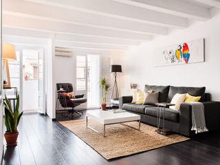 Markham Stagers 现代客厅設計點子、靈感 & 圖片 Multicolored