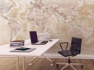 World Map Wallpaper Love Maps On Ltd. EstudioAccesorios y decoración