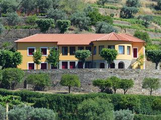 Germano de Castro Pinheiro, Lda Casas de estilo rústico Amarillo