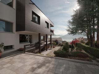 B+B Planer AG Casas modernas: Ideas, imágenes y decoración