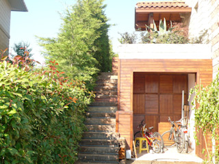 Arkeon evlerinde bir bahçe Bahçevilla Peyzaj Tasarım Uygulama
