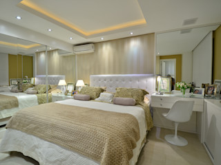 Stúdio Márcio Verza Modern style bedroom