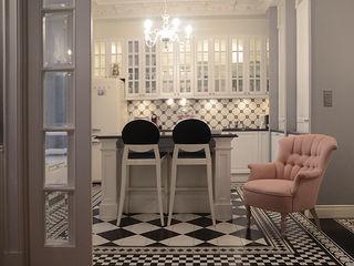 MG Interior Studio Michał Głuszak Paredes y suelos de estilo clásico