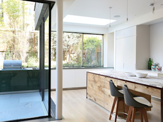 Notting Hill home Alex Maguire Photography Minimalist kitchen