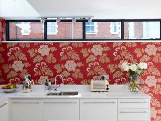Victorian Townhouse Etons of Bath 現代廚房設計點子、靈感&圖片