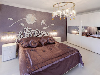 HOME Couture Eclectic style bedroom