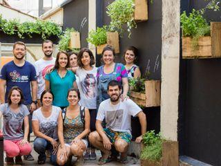 Luiza Soares - Paisagismo Jardines de estilo rústico Madera