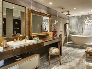 Studio Alessandra Lobo Modern Banyo