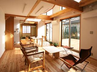 遠藤浩建築設計事務所 H,ENDOH ARCHTECT & ASSOCIATES Salas modernas