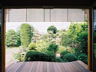 遠藤浩建築設計事務所 H,ENDOH ARCHTECT & ASSOCIATES Balcones y terrazas rurales
