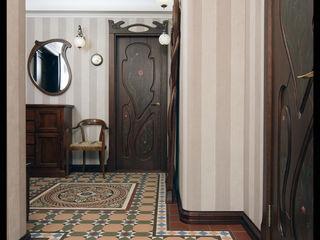 D&T Architects Pasillos, vestíbulos y escaleras modernos