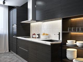 Verge of luxury SVAI Studio Кухни в эклектичном стиле