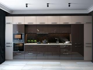Reflection of classics SVAI Studio Кухни в эклектичном стиле