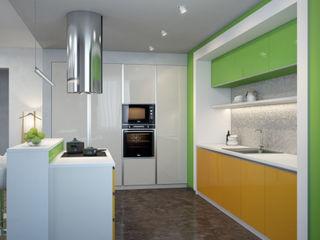 Fresh SVAI Studio Кухня в стиле минимализм