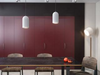 Garnet kitchen SVAI Studio Кухни в эклектичном стиле