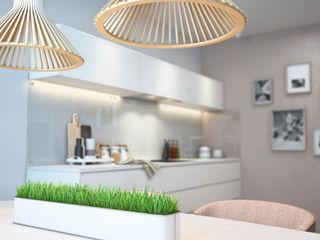 Summer day SVAI Studio Кухня в стиле минимализм