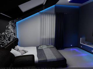 Цунёв_Дизайн. Студия интерьерных решений. Dormitorios minimalistas