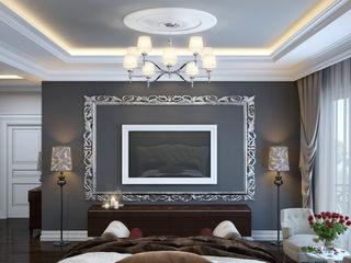 Coffee and Roses SVAI Studio Спальня в классическом стиле