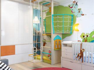 Paper Plane SVAI Studio Детские комната в эклектичном стиле