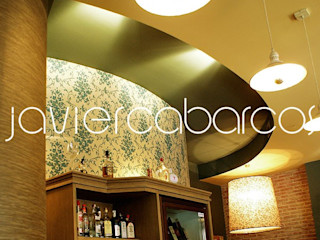 JAVIER CABARCOS Rustic style bars & clubs