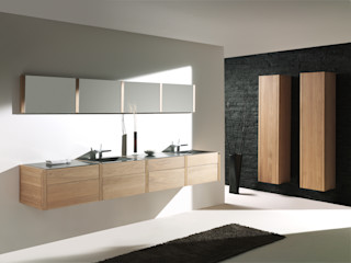F&F Floor and Furniture Modern bathroom