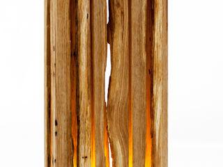 Leuchtobjekt flammu aus Massivholz (LED) Leuchtmanufaktur – Otto Sprencz WohnzimmerBeleuchtung
