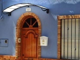 Cubierta con forma Deferro Casas de estilo rústico