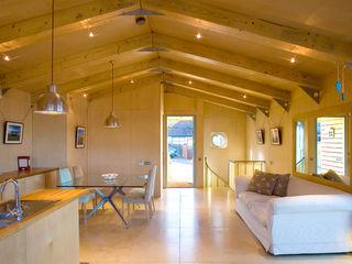 Jago House The Manser Practice Architects + Designers Moderne Wohnzimmer