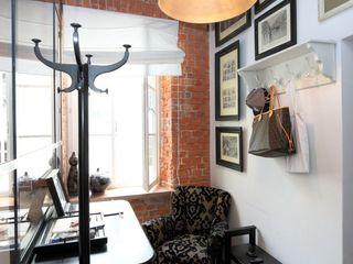 livinghome wnętrza Katarzyna Sybilska Коридор, прихожая и лестница в стиле лофт